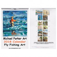 2018 Fly Fishing Calendar