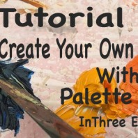 Tutorial, How To Create Your Own Painting With A Palette Knife.