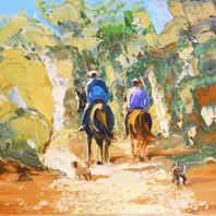 Horse Riding Painings