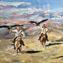 THE EAGLE HUNTERS
